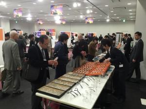眼鏡総合展示会EOF2015会場風景